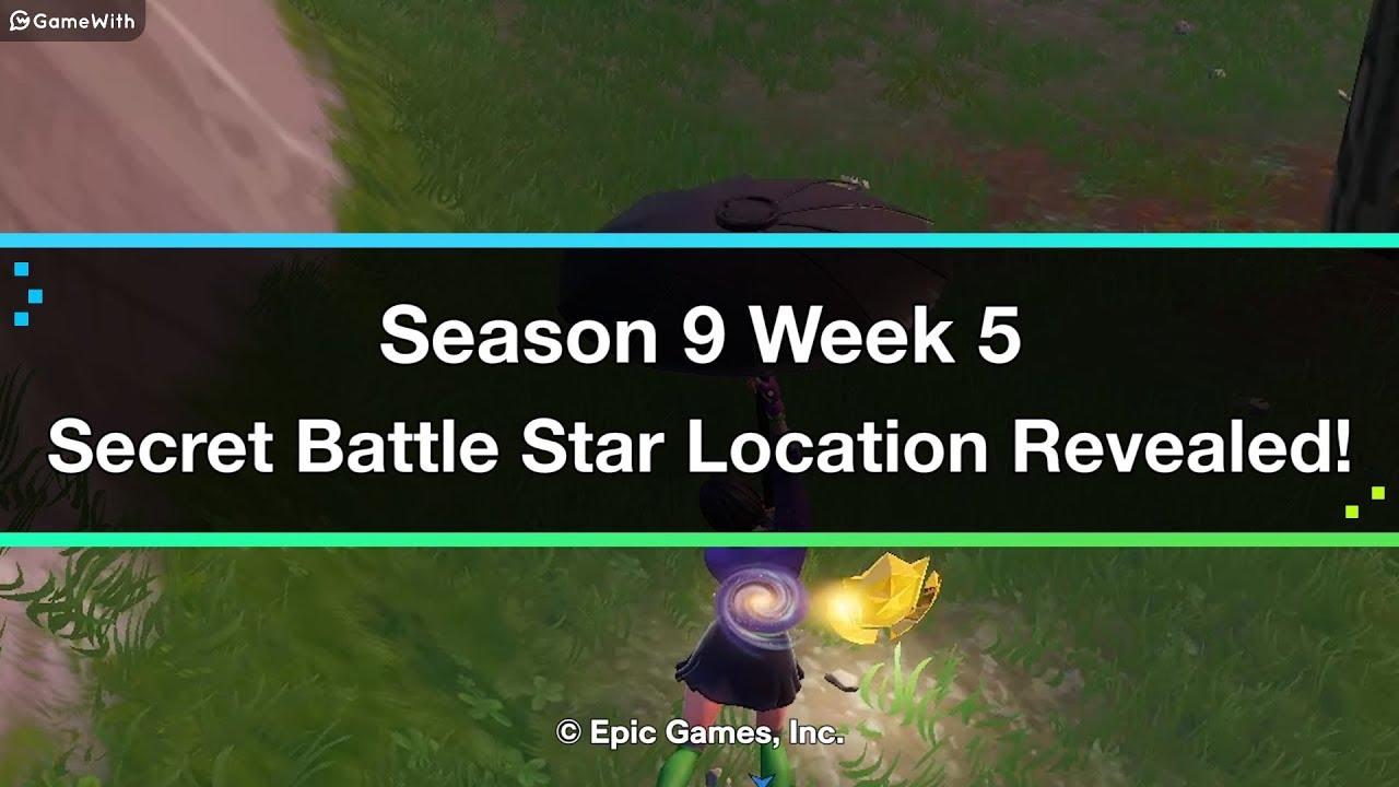 Fortnite | Season 9 Week 5 Secret Battle Star Location