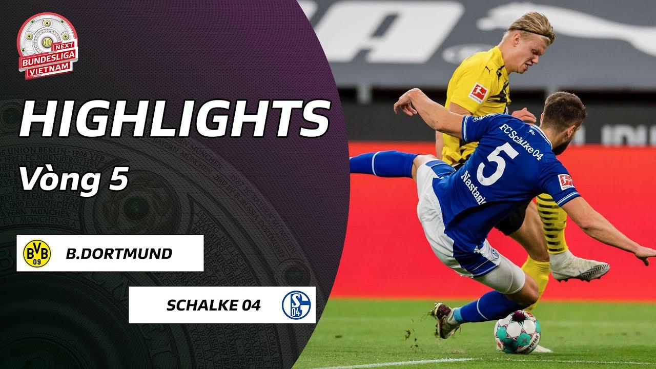 Highlights Borussia Dortmund - Schalke 04 | Ai cứu nổi Schalke 04? | Vòng 5 Bundesliga 20/21