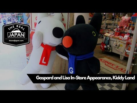Gaspard and Lisa In-Store Appearance, Kiddy Land, Osaka | The Real Japan | HD