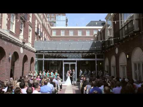 Omaha, Nebraska Wedding Video Featuring the Magnolia Hotel and the Living Room