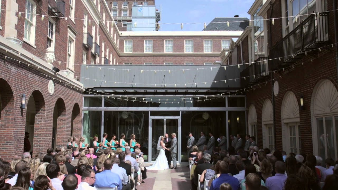 Omaha Nebraska Wedding Video Featuring The Magnolia Hotel And Living Room