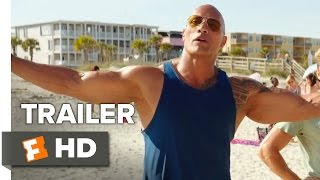 Baywatch Official Trailer - Teaser (2017) - Dwayne Johnson Movie