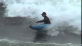 Kayak Surfing at Yufutsu