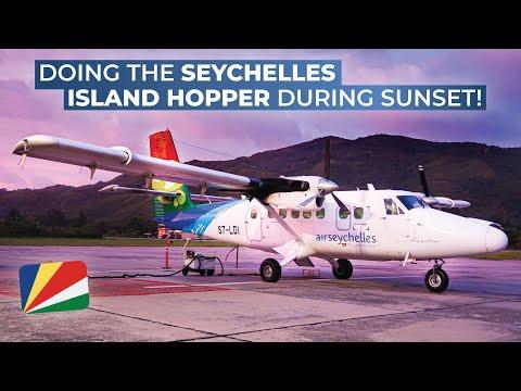 TRIPREPORT   Air Seychelles (ECONOMY)   Mahé - Praslin Island   Viking Air DHC-6 Twin Otter