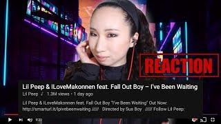 [REACTION] Lil Peep & ILoveMakonnen feat Fall Out Boy – I've Been Waiting Video