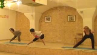 Стретчинг- развитие гибкости. Видео- урок с Мариной Шешуковой.