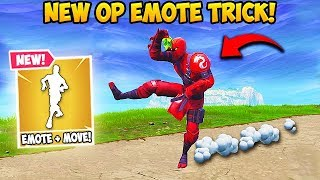 *EPIC* EMOTE TRICK! - Fortnite Funny Fails and WTF Moments! #494