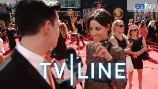 "Emmys 2013: Aubrey Plaza on ""Parks and Rec,"" ""Chris Pratt,"" Being a Witch - TVLine"