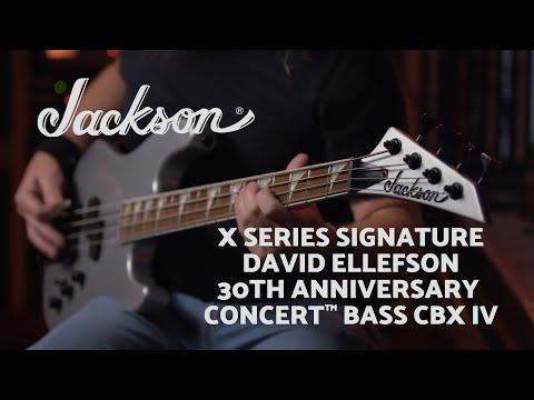 David Ellefson X Series Signature 30th Anniversary Concert™ Bass CBX IV