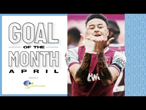 LINGARD'S RUN v WOLVES  | GOAL OF THE MONTH APRIL