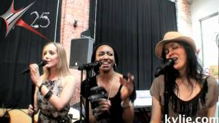 Kylie Minogue - Anti Tour Rehearsals I Dont Need Anyone March 2012