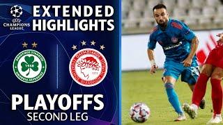 Omonia Nicosia vs. Olympiakos: Extended Highlights | Playoffs 2nd Leg | UCL on CBS