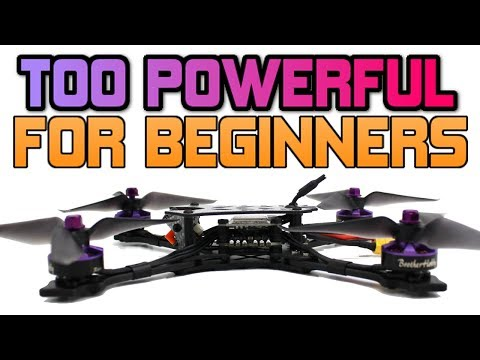 BNF DRONE for PRO pilots ONLY! NOT FOR BEGINNERS. Avant DEVEL review