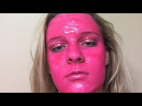 Woman Roasted After Staining Face HOT PINK in Stunt Gone Wrong | What's Trending Now!