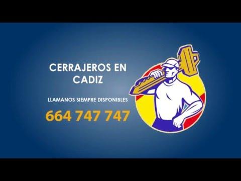 Cerrajeros Cadiz - 664 747 747 - Cerrajeros urgentes Cadiz - Calidad y Rapidos
