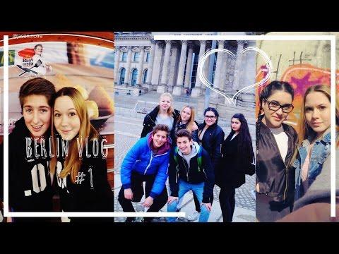 KLASSENFAHRT Nach Berlin ! Vlog #1   Misses Tarec