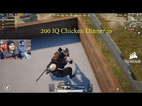 200 IQ Chicken Dinner Must Watch Till The End   Pubg Mobile Highlights!