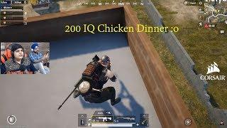 200 IQ Chicken Dinner Must Watch Till The End | Pubg Mobile Highlights!
