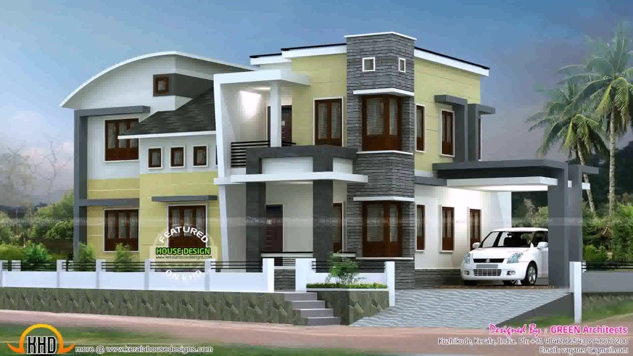 Box Type House Design In Kerala Youtube