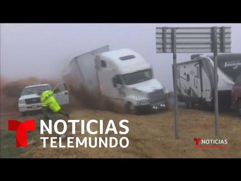 mal-tiempo-provoca-accidente-múltiple-en-texas-|-noticias-telemundo