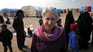 Интервью с женой террориста ИГИЛ в сирийском лагере беженцев.