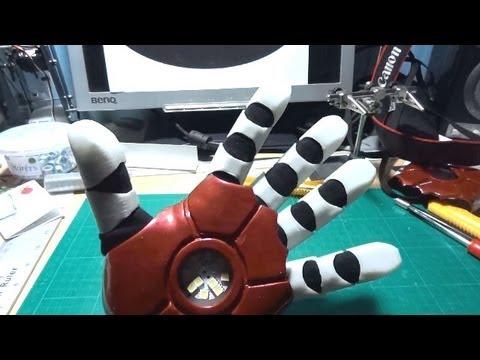 Iron Man Power Suit #32 | Glove Testing | James Bruton