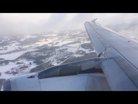 Finnair Airbus A320 - flight from Helsinki to Stockholm