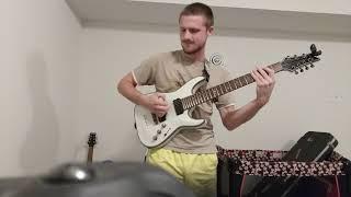 progressive metal jam 432 hz drop a# tune up