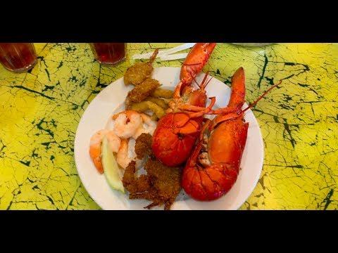 Lobster Seafood Buffet & Black Chasm Cavern