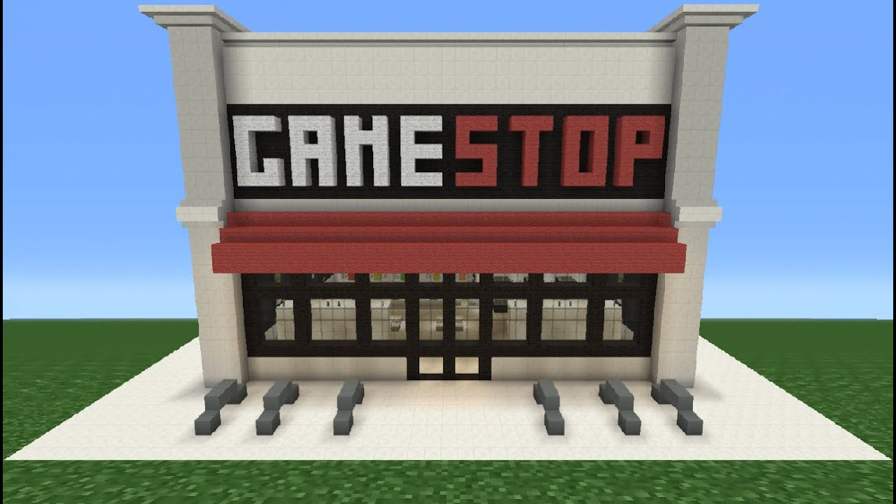 Minecraft Tutorial How To Make A Gamestop Youtube
