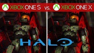 Halo 3 Comparison - Xbox One X vs. Xbox One S