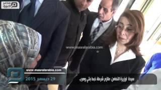 فيديو|سيدة لوزيرة التضامن: ملازم شرطة خبط بنتي بعربيته وهرب