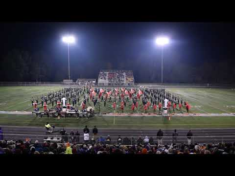 North Royalton High School Marching Band Contest Performance - Copley - Oct 13 2018