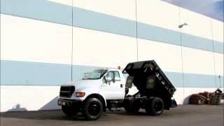 Sold! Ford F-650 3 Cubic Yard  Dump Truck With Asphalt Sprayer bidadoo.com
