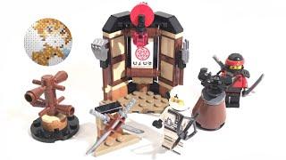 The Lego Ninjago Movie 70606 Spinjitzu Training - Lego Speed Build Review