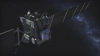 Rosetta heads for glorious crash landing