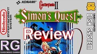 RDG Vol. 20: Castlevania II Simon's Quest review video, in-depth review [1080p 60fps]