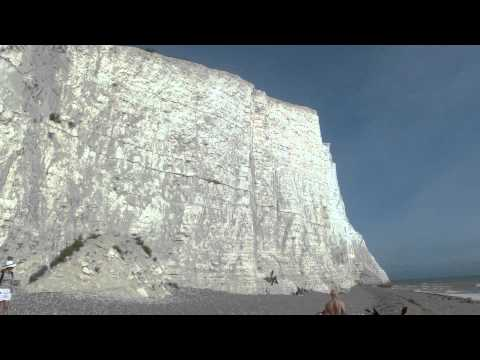 Seven Sisters White Cliffs in England
