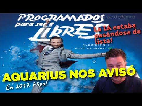 Aquarius nos avisó: Programados para ser libres. Anuncio de 2017.