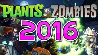 NEW Plants vs Zombies 2016 LEAKED INFO?!? | PVZ Garden Warfare 2