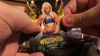 2018 Topps WWE Road to Wrestlemania Blaster Box Break Review