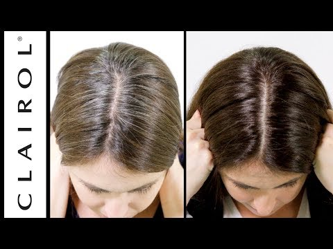 how-to-cover-grey-hair-at-home-|-clairol-root-touch-up