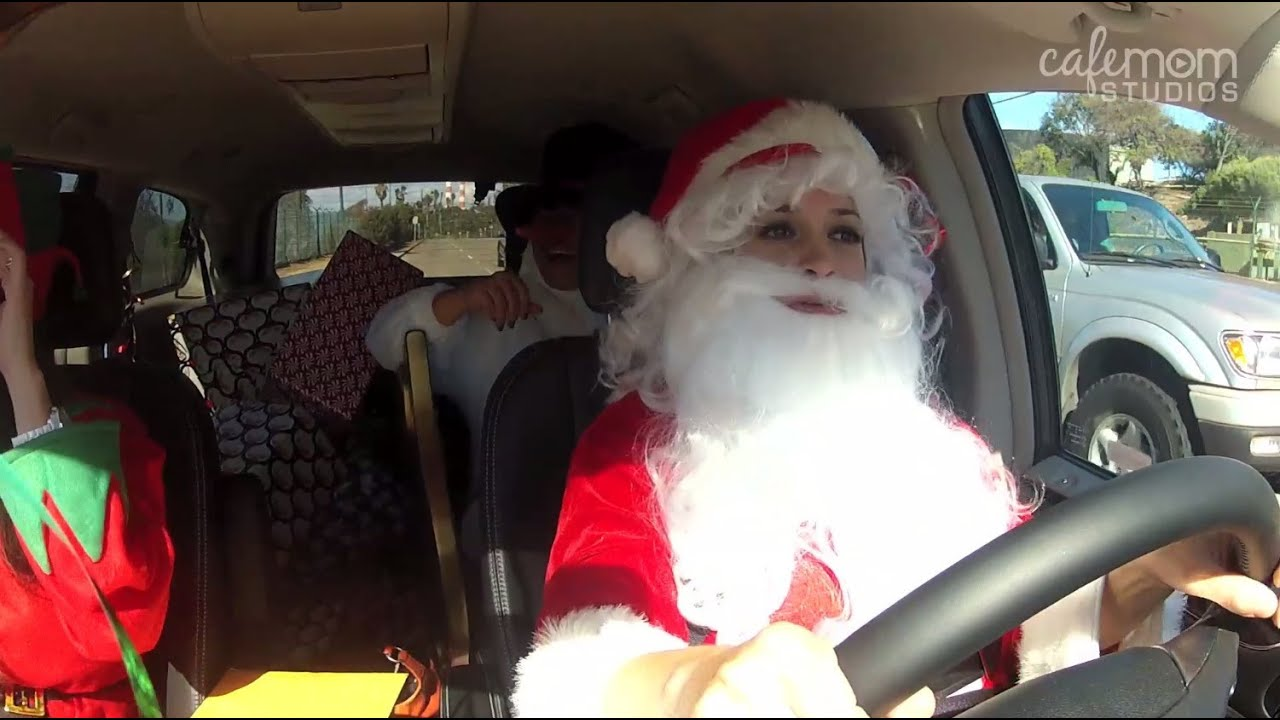Santa claus and two pretty girls - 1 part 10