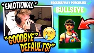 Tfue FINALLY Buys The *NEW* BULLSEYE SKIN And Explains Why... (EMOTIONAL) Fortnite SAD Moments