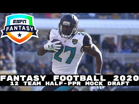 2020 Fantasy Football Mock Draft (Half-PPR)- 12 Team- Pick 11