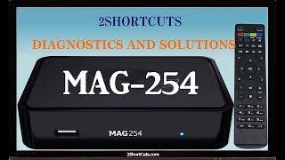 IPTV Mag-254 diagnostics and solutions | Infomir