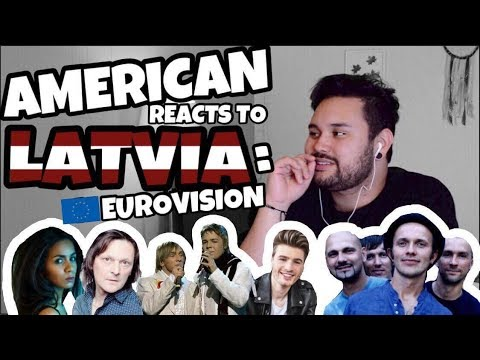 American REACTS: Latvian EuroVision