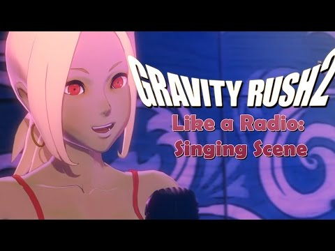 Gravity Rush 2 - Singing Scene (A Red Apple Fell From The Sky)