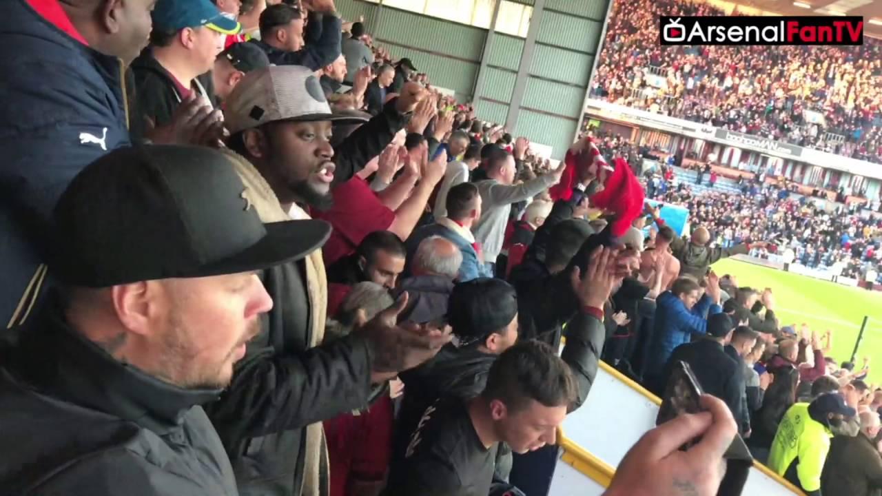 Burnley vs Arsenal 0-1   Mayhem In 93rd Minute As Arsenal ...