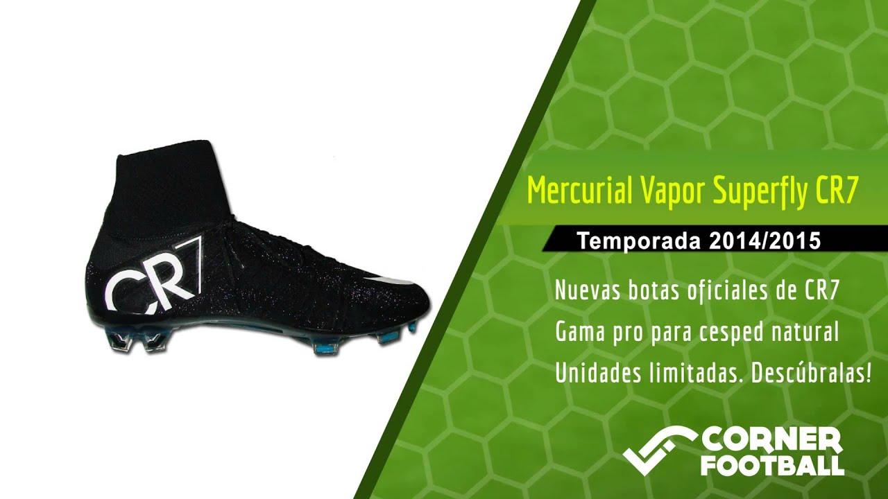 Nuevas Botas Nike Mercurial CR7 1415 | Botas Cristiano Ronaldo.